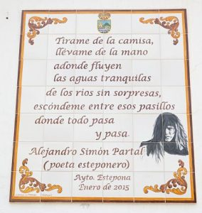 Poema Alejandro Simón