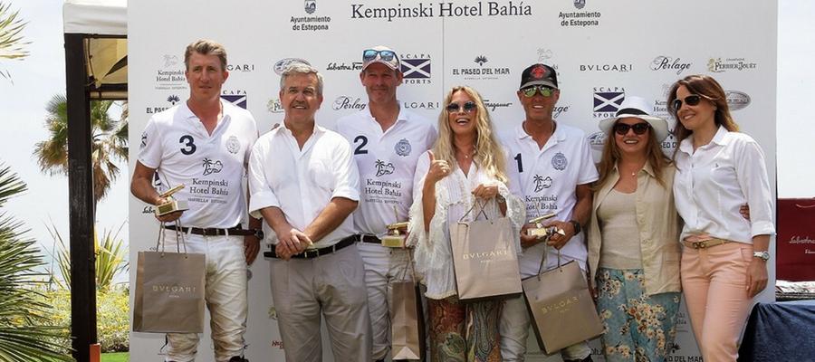 ganador de la I Costa del Sol Beach Polo Cup