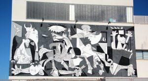 El Quijote en el Guernica