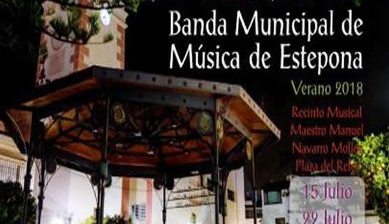 concierto de la banda municipal de estepona