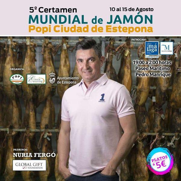 Actividades en la segunda semana de Agosto en Estepona jamón
