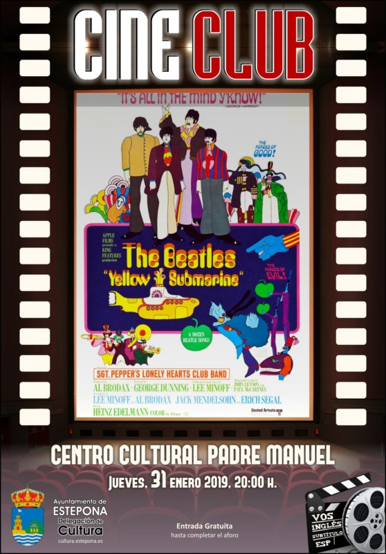 cine club yellow submarine