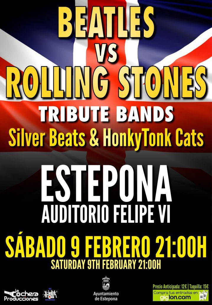 concierto tributo a los beatles y rolling stones