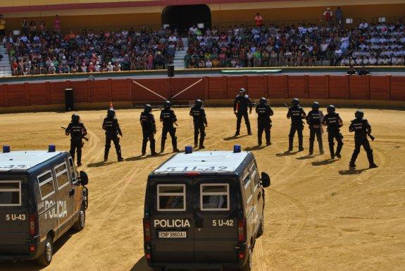 III encuentro de la policía nacional con escolares de Estepona