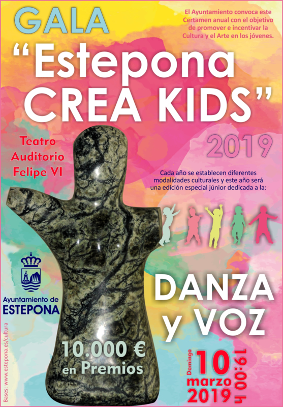 gala crea kids estepona 2019