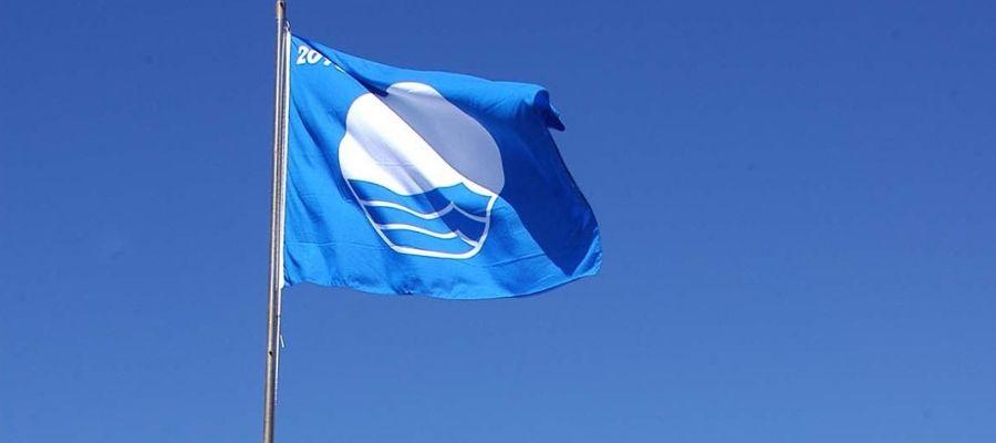 Bandera Azul en las playas de Estepona