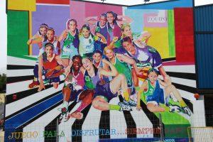 mural espiritu de equipo que ver en estepona