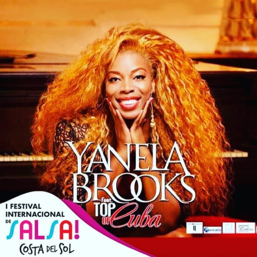 Yanela Brooks Festival de Salsa Costa del Sol