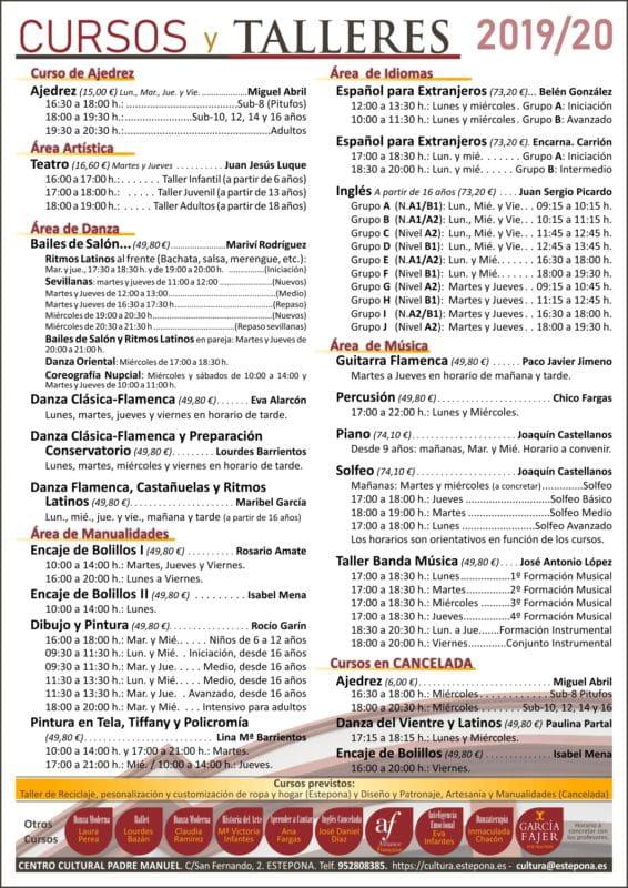 cursos y talleres en Estepona 01