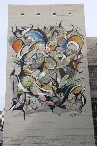 Leyton mural en Estepona