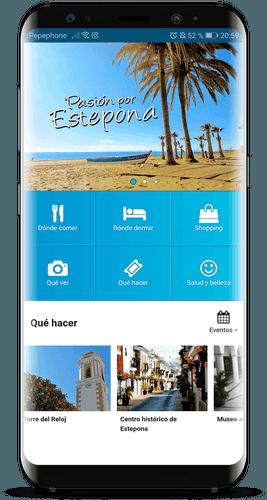 aplicacion gratis turismo estepona