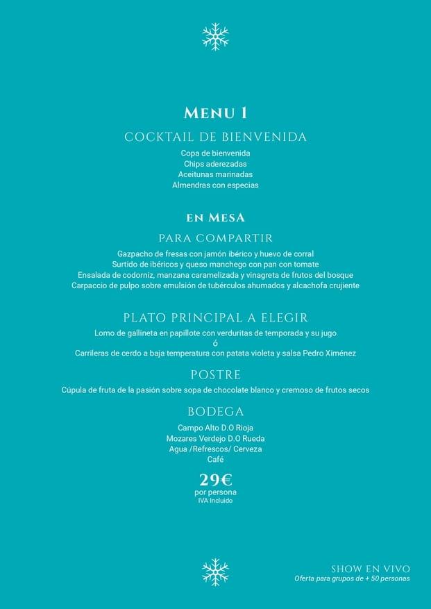 Cena de Navidad Ona Valle Romano Estepona 2019 6