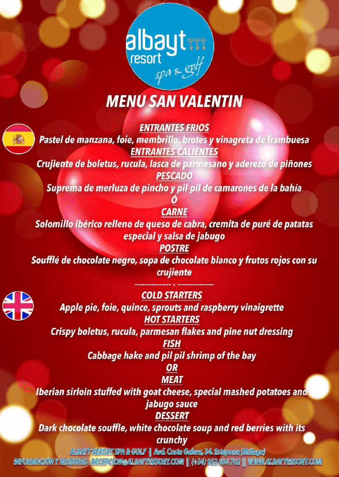 Ideas para pasar San Valentín en Estepona 2
