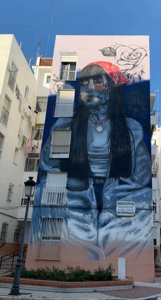 Mural de 'El Chorro Arts'