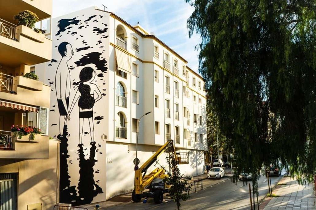 Mural de Alex Senna