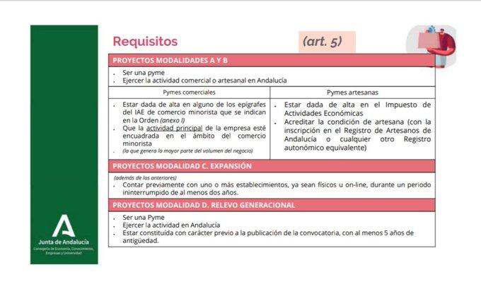 La Junta de Andalucía ha sacado a la luz un conjunto de ayudas para Pymes andaluzas. En este artículo os contaremos en qué consisten estas subvenciones.