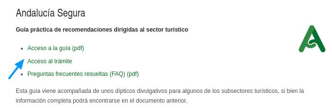 pedir certificado andalucia destino seguro
