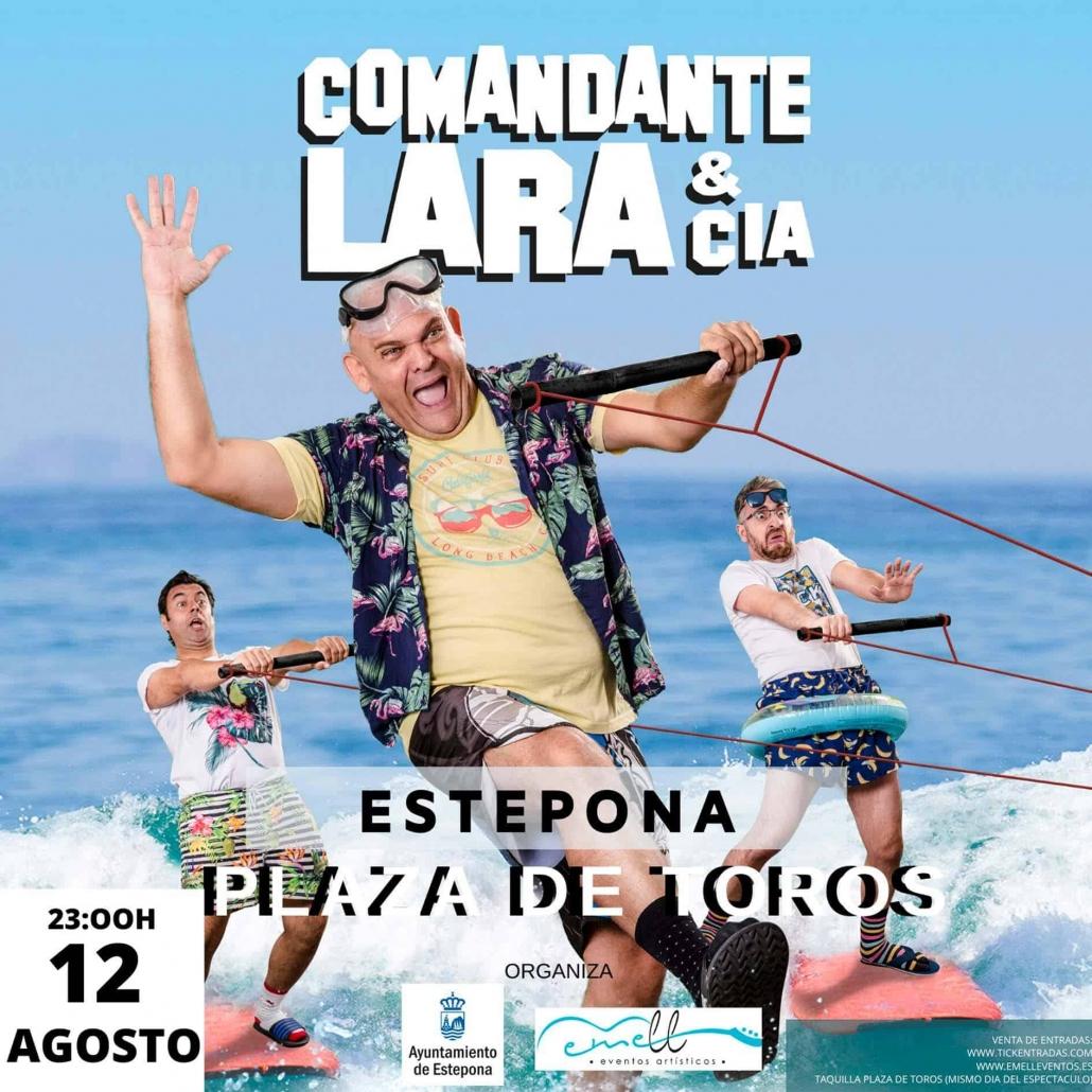 Comandante Lara & Cía ''A toda Costa''
